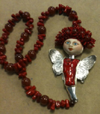 Red Dembowski Necklace