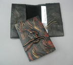 Suede Lined Leather Card Holders/Small Wallet
